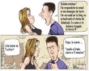 chiste redes sociales en el amor