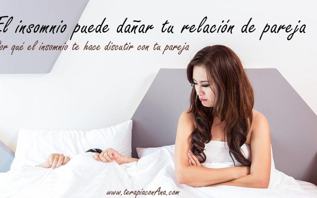 El insomnio puede dañar tu relación de pareja