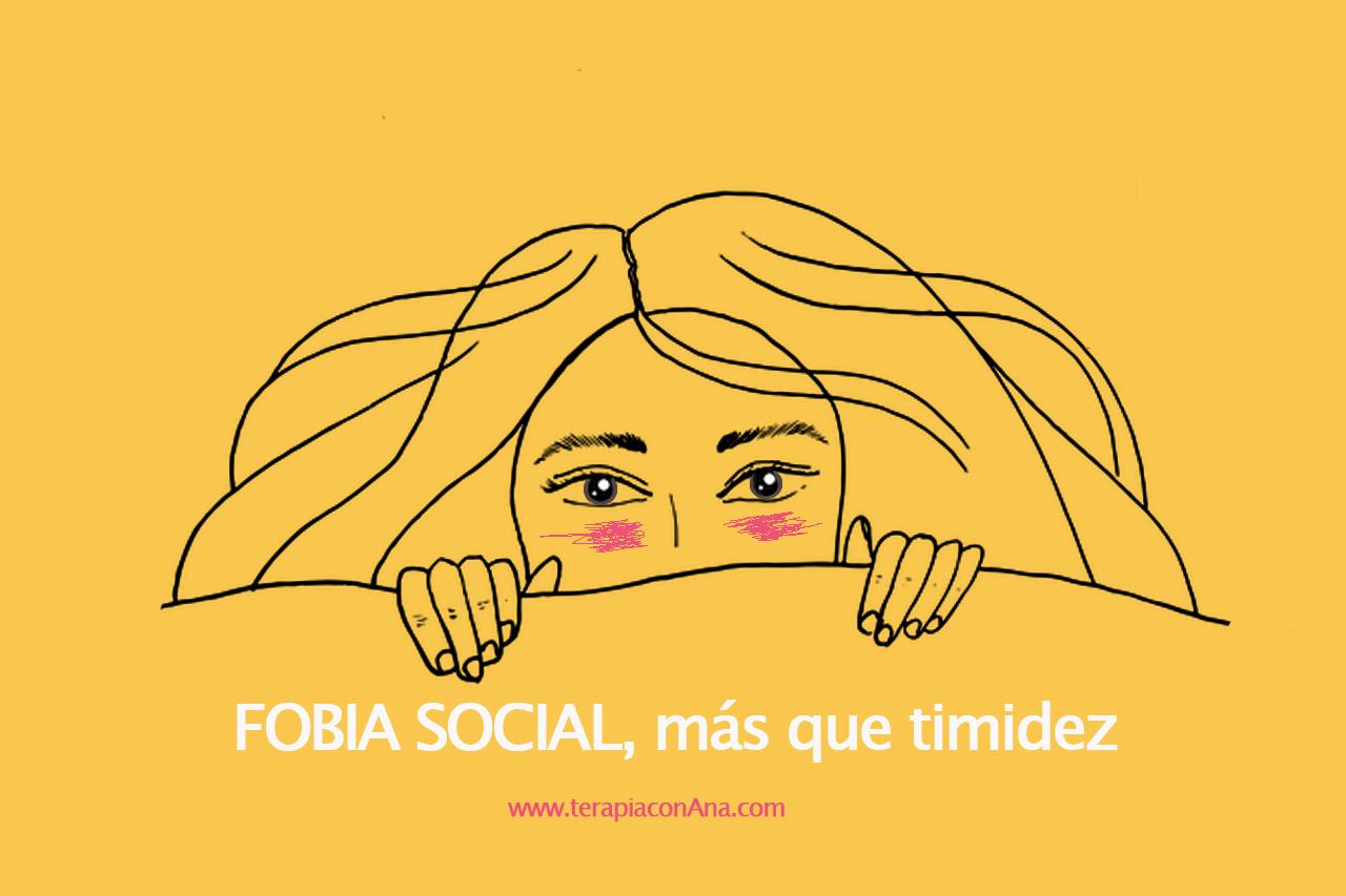 FOBIA SOCIAL, mucho más que miedo a estar o hablar en público