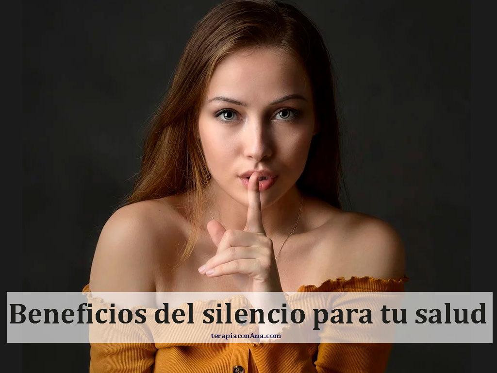 Beneficios del silencio para tu salud
