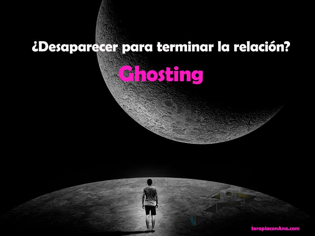 Desaparecer para terminar la relación, ghosting