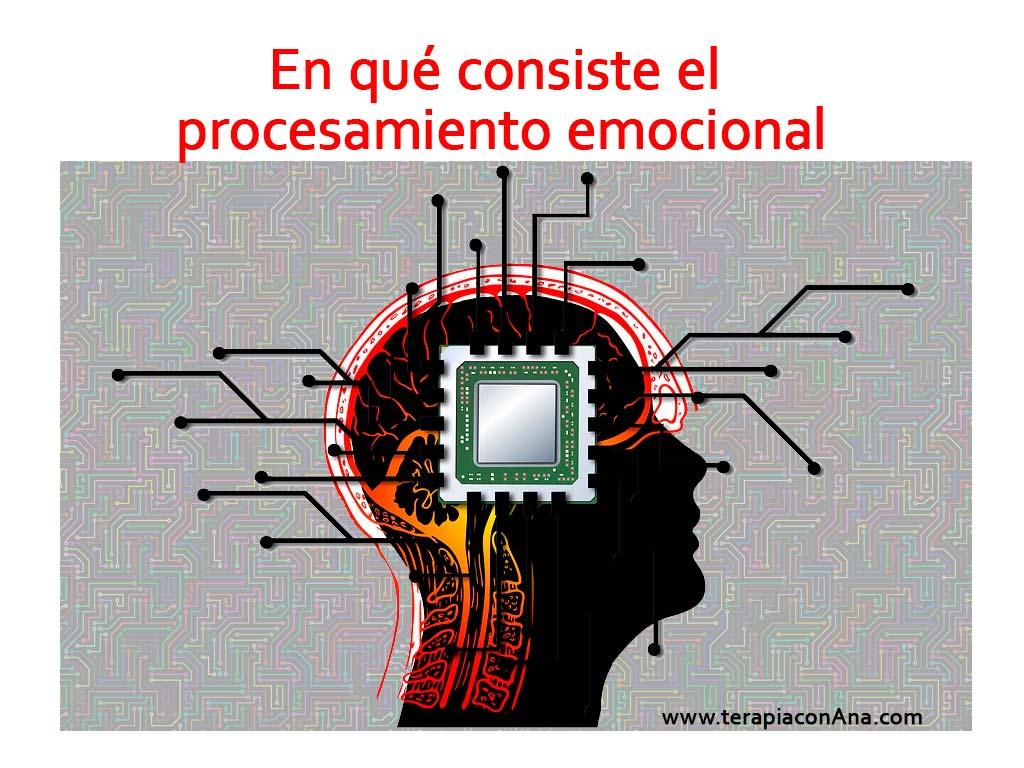 En qué consiste el procesamiento emocional