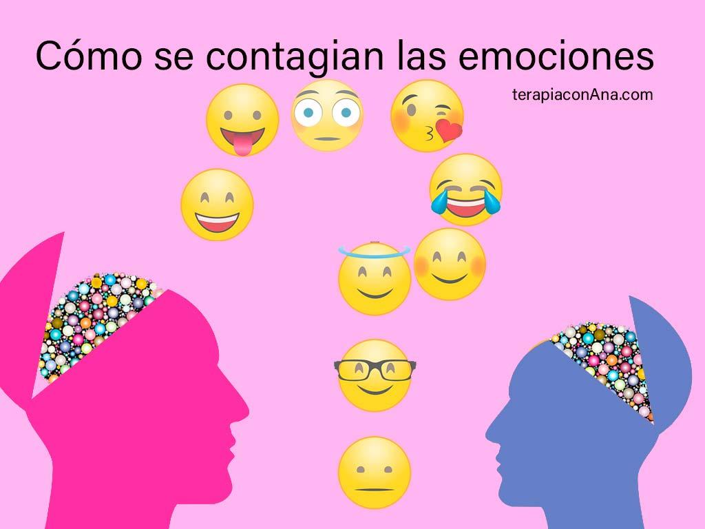 Cómo se contagian las emociones