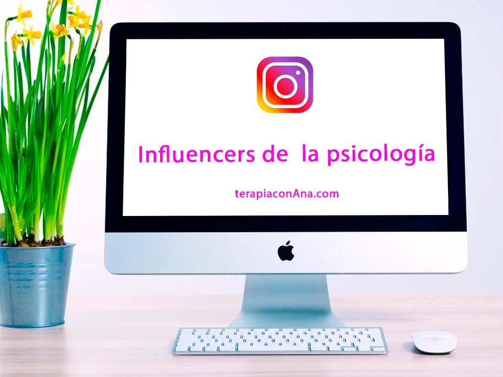 Influencers de la psicología