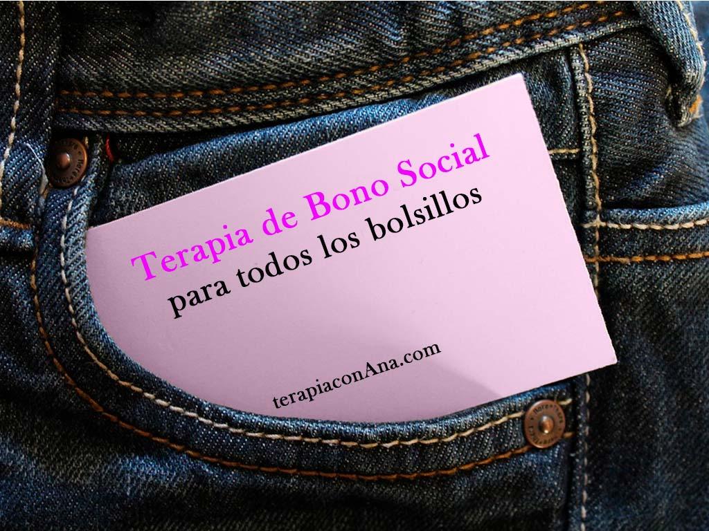 Terapia de Bono Social Mensual